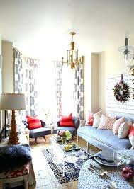 red and blue pillows gorgeous eclectic living room with sand beige walls paint color script canvas