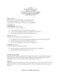 Mla Resume Template Resume Mla Format Resume Sample – Digiart