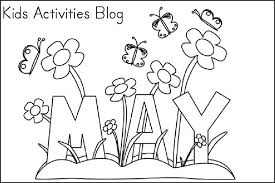 Small Picture Online May Coloring Pages 99 For Download Coloring Pages with May