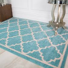 duck egg blue moroccan trellis rug small large textured traditional area rugs