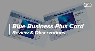 Blue Business Plus Credit Card From American Express Reviews