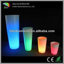tall vase lighting garden. Solar Lighted Planters Large Outdoor Garden With Lights LED Tall Vases BCG-919V Vase Lighting I
