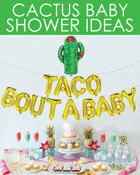 cactus party ideas for a baby shower