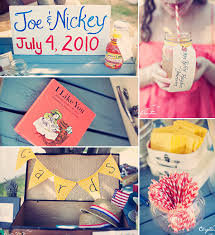 fourth of july inspired holiday wedding ideas and supplies Ideas For July 4th Summer Wedding yellow red and blue 4th of july vintage wedding ideas 4th of July Wedding Centerpieces