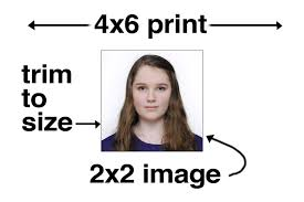 2x2 Passport Photo Template 2x2 Actual Size Ohye Mcpgroup Co