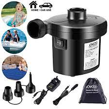 Joycoo <b>Electric Air</b> Pump <b>Air</b> Mattress Pump Airbed Pump Portable ...