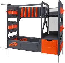 Sons nerf gun rack in his room it looks brilliant. Amazon Com Nerf Elite Blaster Rack Toys Games