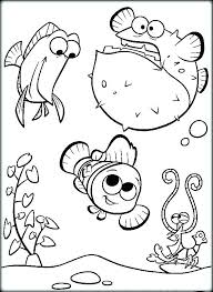 Nemo Coloring Finding Coloring Page And Coloring Page Finding Nemo