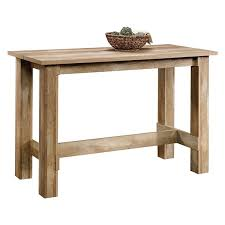boone mountain craftsman oak counter height dining table