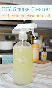 homemade grease cleaner spray great for cleaning kitchen messes with non toxic ings and