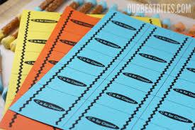 crayon label template printable label