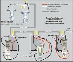 light switch wiring common three way switch how to wire a switch 3 3-Way Switch Multiple Lights Wiring-Diagram light switch wiring common 4 way switch wiring diagram power from lights light switch wiring common