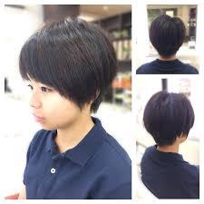 ショートガール高校生 Hair Verdeヘアー ヴェルデのヘアスタイル