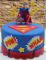Superman Fondant Cake Design Superman Fondant Cake Superman Cakes Superhero Birthday