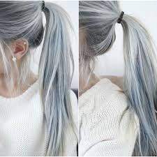 Pin by Ashley Strey on hair   Granny hair, Cool hair color, Funky hairstyles
