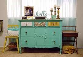 eclectic crafts room. Colorful Eclectic Vintage Living Room, Crafts, Room Ideas, Painted Furniture, Shelving Crafts
