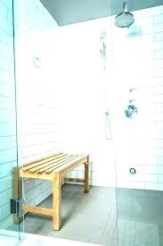 granite shower seat decoration floating bench how to install a better seats full size installation