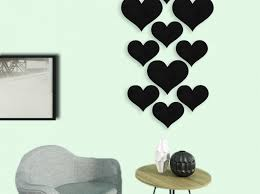 pink heart wall decals for bedroom love