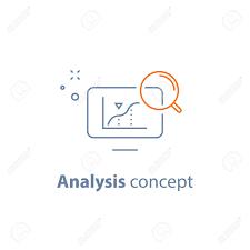 Analysis Concept Analyzing Data Performance Graph Sales Diagram