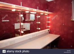 Theatre Dressing Room Design Modern Theatre Dressing Room And Mirrors Stock Photo
