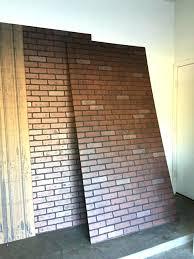 fake brick wall faux brick wall panels home depot medium size of depot faux brick panels fake brick wall