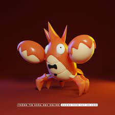 Pokemon corphish 3D - Finished Projects - Blender Artists Community