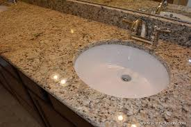 marvelous decoration granite bathroom sinks undermount up of the granite countertop and undermount sinks in the master bath