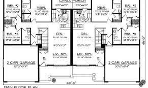 6 bedroom duplex house plans