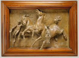 american relief sculpture essay heilbrunn timeline of art  the horses of anahita or the flight of night