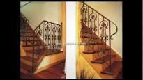 barandales de escaleras colonial