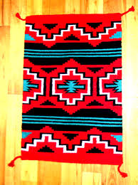 nice navajo saddle blanket in excellent condition