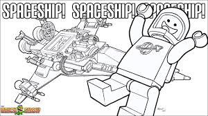 The Lego Movie Coloring Page Lego Benny And His Spaceship Printable