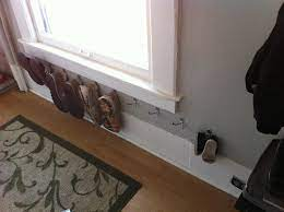 shoes on hooks love this use command
