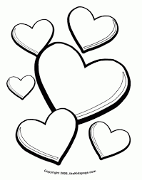 The Most Elegant along with Interesting Free Heart Coloring Pages ...