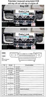 diagram of obd2 connector ford truck enthusiasts forums payson s obdii data link key off koeo plus diagram jpg views