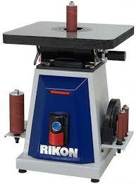 rikon belt sander. rikon 50-300 1oscillationg spindle sander belt