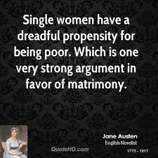 Single Women Quotes Best Jane Austen Women Quotes QuoteHD