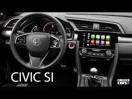 2018 honda civic interior. Brilliant Civic 2018 Honda Civic Si Sedan INTERIOR And Honda Civic Interior YouTube