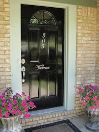 black front doors. Modren Front Red To Black Front Door Makeover For Doors X
