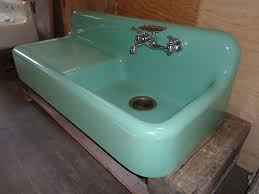 farmhouse drainboard sinks amazing retro kitchen sink home