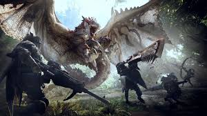 Monster Hunter World Chart Monster Hunter World Retains Top Spot On Uk Sales Charts