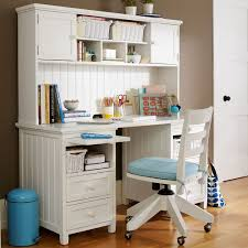 Furniture:Modern White Desk Chair For Kids Small Girl Bedroom Desk With  White And Blue