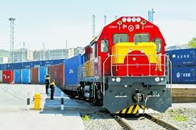 china s rail freight transport on the rise