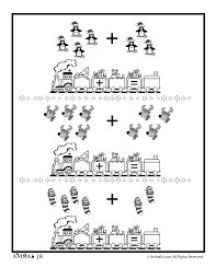 Christmas Math Addition Worksheet - Picture Groups - Woo! Jr. Kids ...