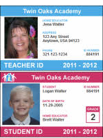 Make Your Own Identification Card Free Homeschool Id Card For Teachers And Students