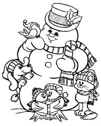 Small Picture Download Free snowman coloring sheets free printable snowman