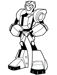 Bumble Bee Coloring Pages Bumblebee Transformer Coloring Pages