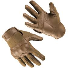 details about mil tec tactical gloves leather knuckles military mens gear dark coyote