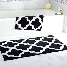 black and white bathroom rugs best bath rugs images on lovely black and white bathroom rug