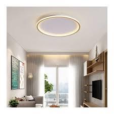Trang Trí Nhà Cửa Ốp Trần Led Đèn Phòng Tối Giản Đèn Tròn Hiện Đại Cho  Livingroom Đèn Nhà Phòng Ngủ Có Điều Khiển Từ Xa|Đèn Trần